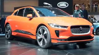 Geneva 2018 Premiere of the Jaguar I-Pace and Range Rover SV Coupe | Motor Show | Auto Show