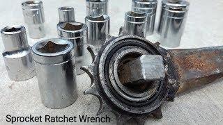 Sprocket Ratchet Wrench