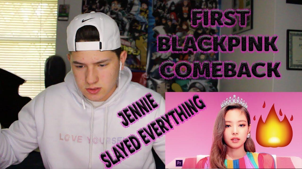 BLACKPINK - '뚜두뚜두 (DDU-DU DDU-DU)' M/V REACTION | FIRST BP COMEBACK! | JENNIE 😳