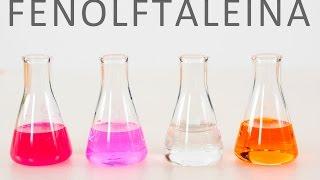 Fenolftaleína. EXPERIMENTOS