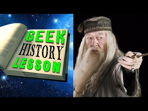 History of Dumbledore (Harry Potter) - Geek History Lesson