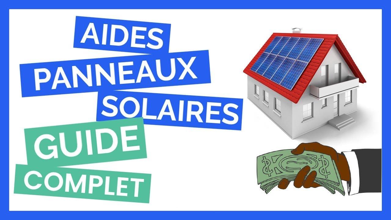 aides et crédit dimpot solaire.gouv