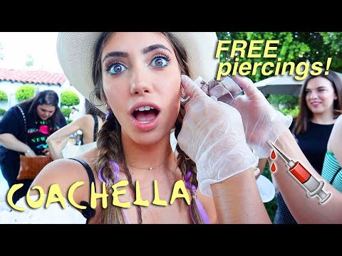 MY FIRST TIME GOING TO COACHELLA EVENTS