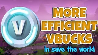7 Ways To Earn V-Bucks More Efficiently In Fortnite Save The World   Fortnite Save The World Guide