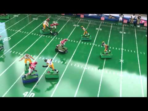 Electric Football 1980 Atlanta Falcons vs 1984 Los Angeles Rams