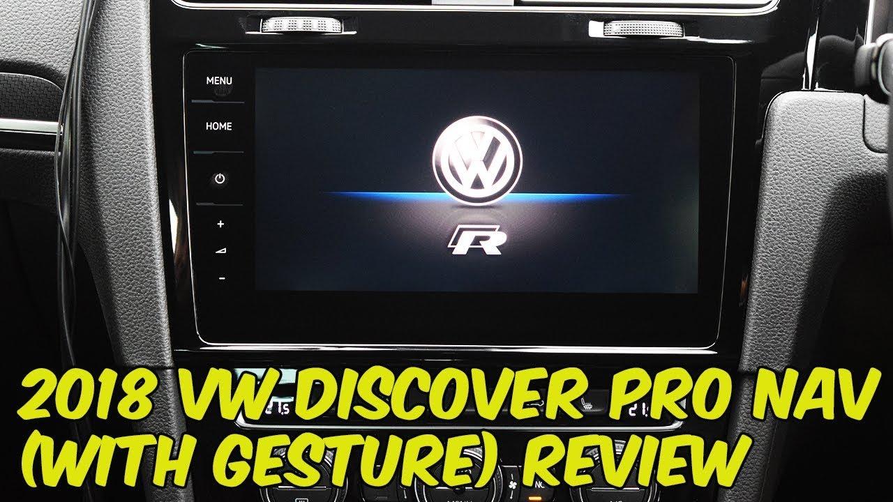 volkswagen 2018 discover pro with gesture control system. Black Bedroom Furniture Sets. Home Design Ideas