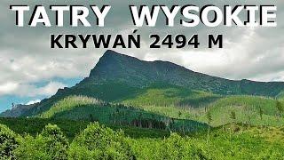 TATRY WYSOKIE - Krywa 2494 M 02072015