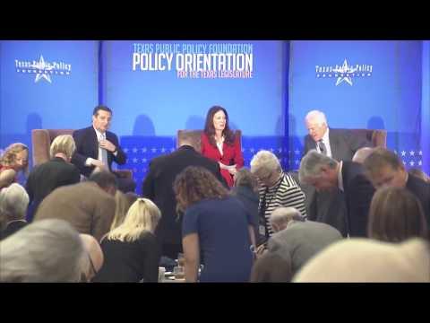 Sens. Cruz, Cornyn at Texas Public Policy Foundation's Policy Orientation