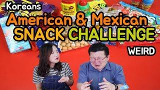 American & Mexican SNACK CHALLENGE / Hoontamin