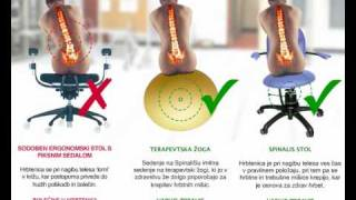 Office chairs SpinaliS commercial
