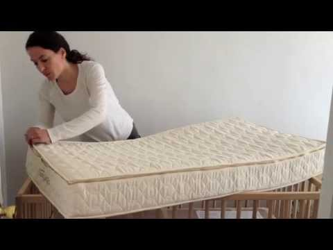Savvy Rest review   best organic crib mattress   YouTube