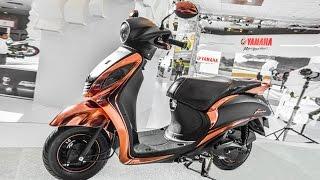 Yamaha Fascino Special Edition Showcased At Auto Expo 2016