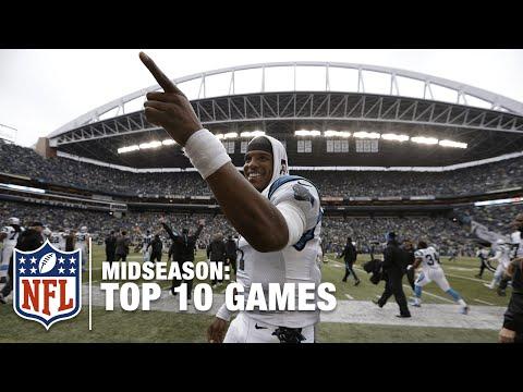 NFL Top 10 Games (Midseason) | Cam Newton