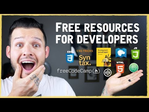 Free Resources To Learn Front-End Development 2018 | Coding Courses, Videos, Books, Tools And More
