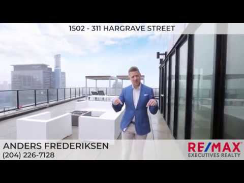 1502 - 311 Hargrave, Gorgeous Winnipeg Downtown Condo ~ Tyson James Photo Winnipeg Real Estate Video