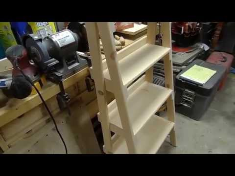 GPW 14 - Ladder Shelf
