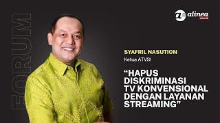 ATVSI minta hapuskan diskriminasi tv konvensional dengan layanan streaming