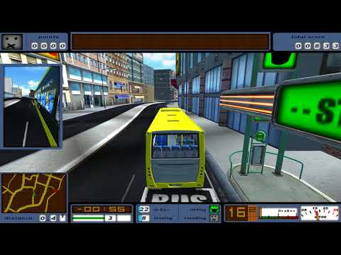 Bus Driver #16 Bus 57 - The backbone of Old Town 🎮 James Games  