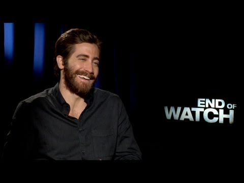 Jake Gyllenhaal and Michael Pena Interview for END OF WATCH