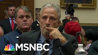 Jon Stewart Tells Congress Never Forget 911 First Responders  The Last Word  MSNBC