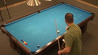 Billiard University Exam 1 on a 10 Foot Table Score 90