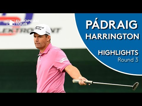Pádraig Harrington Highlights | Round 3 | 2018 D+D Real Czech Masters