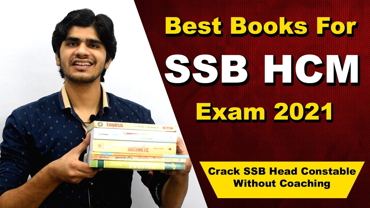 Best Books for SSB Head Constable Ministerial Exam 2021   Crack SSB HCM with Coaching