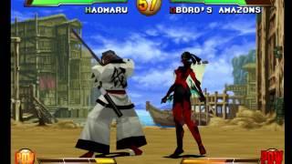 Gameplay - Samurai Shodown: Warriors Rage (PlayStation)