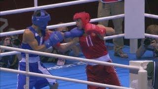 Aloian (RUS) v Nyambayar (MGL) - Boxing Men