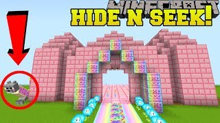 Minecraft: NYAN CAT HIDE AND SEEK!! - Morph Hide And Seek - Modded Mini-Game
