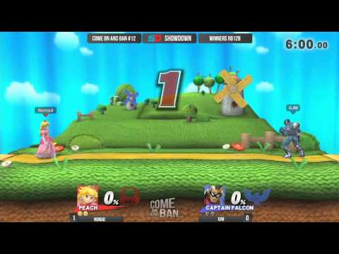 Come on and Ban #12 - Winners Ro128: Nomad (Peach) vs GJM (Captain Falcon)