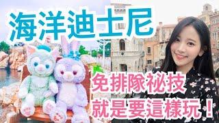 ❄️ 東京海洋迪士尼設施免排隊!就是要這樣玩 🎢  Tokyo Disney Sea 東京ディズニーシー🌊  SNOWBABY VLOG thumbnail