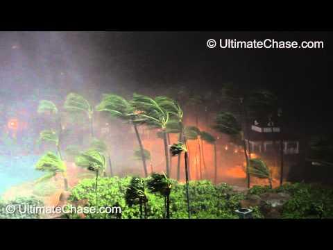 Hurricane Irene Video - Nassau, Bahamas - Part 1