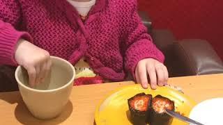 Будни. Поход в ресторан. Суши. Японский фастфуд:)).Семья в японской деревне