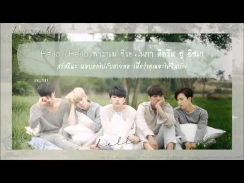 [Karaoke Thaisub] Boys Republic - Hello (Acoustic Ver.)