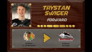 Trystan Swiger - NAPHL to NA3HL | Stand Out Sports Client Hall of Fame