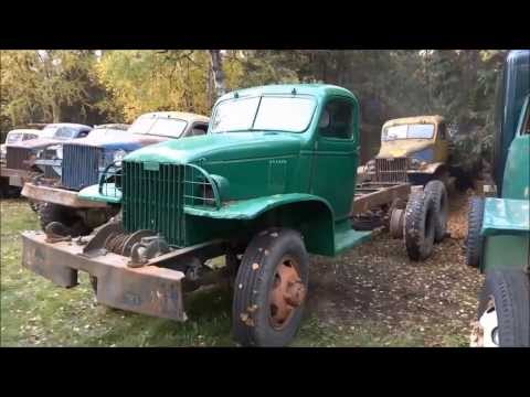 Old Truck Salvage Yard