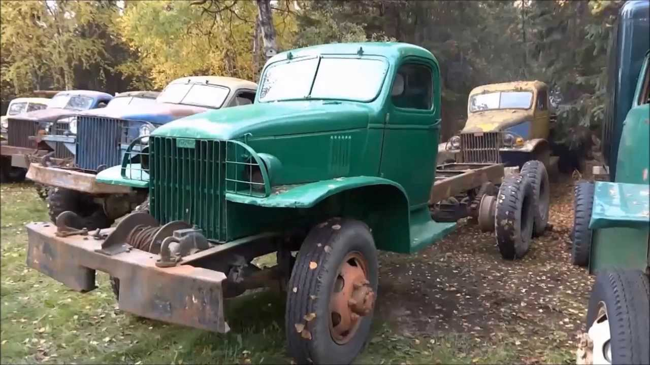 Old Truck Salvage Yard - YouTube