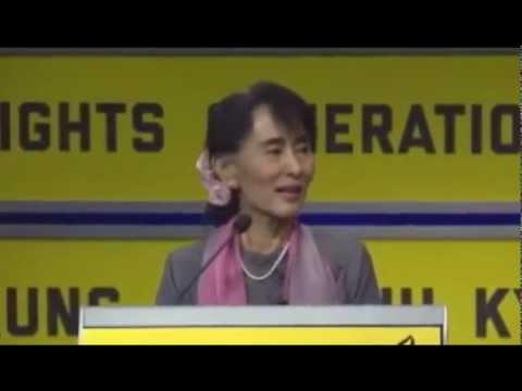 Aung San Suu Kyi Amnesty International Q&A September 21, 2012