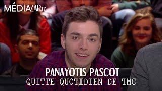 Panayotis Pascot quitte