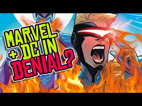 Marvel And DC Comics In DENIAL As Comics Industry Faces EXTINCTION?