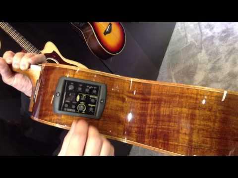 kraft music yamaha a4k ac4k koa series acoustic electric guitar demos at namm 2013 youtube. Black Bedroom Furniture Sets. Home Design Ideas