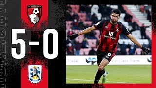 HUGE win in front of the fans 🔥| AFC Bournemouth 5-0 Huddersfield Town