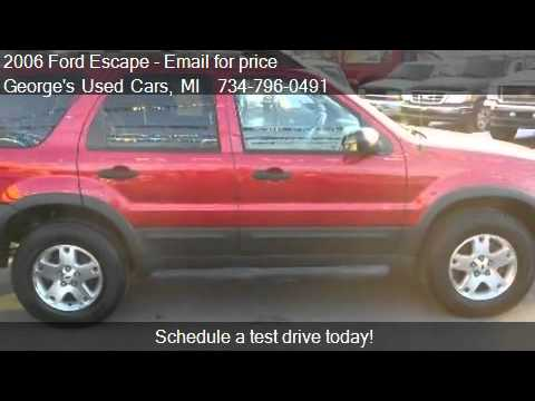 2006 Ford Escape XLT 4WD - for sale in Brownstown, MI 48193
