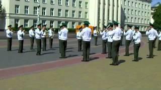 День пограничника в Бресте. Парад оркестра.
