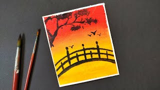 draw beginners landscape easy drawing learn very step