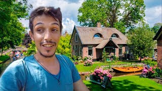 See How They Live at Home in the Netherlands? - Hobbit Village GIETHOORN