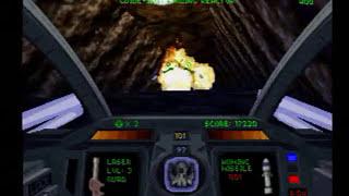 Descent Maximum (PS1) Gameplay