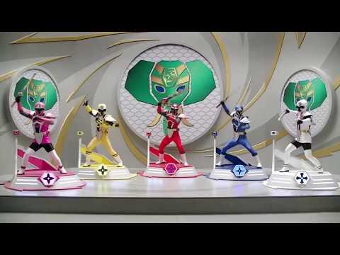 Power Ranger Ninja Steel   Batalla Megazord - Capitulo 6