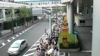 【2011.08.07】フジテレビ抗議デモ【人数カウント用ムービー】 thumbnail